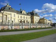 Die königliche Residenz Drottningholm in Stockholm