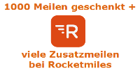 My Travelworld schenkt dir Meilen via Rocketmiles