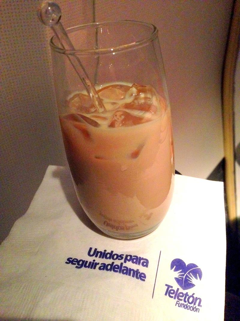 Open Bar in der Business Class von Aeromexico