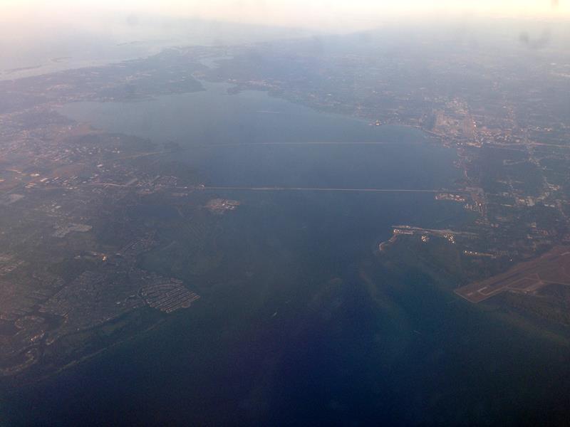 Ausblick auf die Tampa Bay Area in Florida