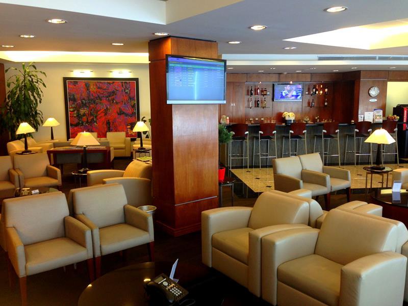 Der Copa Club im Las Américas Airport in Santo Domingo