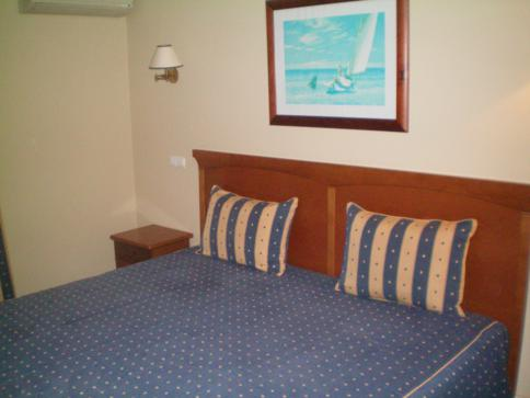 Doppelzimmer im Hotel Velamar in Olhos d'Agua