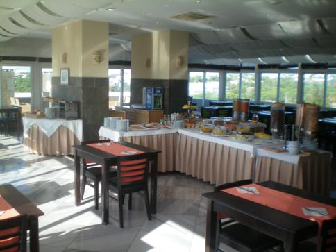 Das sehr leckere Frühstücksbuffet im Hotel Velamar