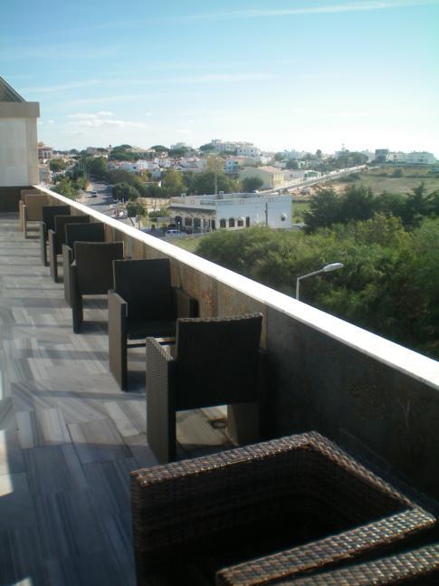 Die Dachterrasse des Hotel Velamar