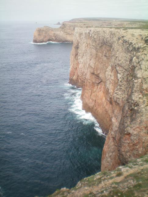 Das Kap St. Vincent, der südwestlichste Punkt von Kontinentaleuropa