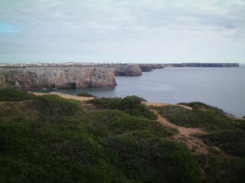 Ausblick vom Cabo de Sao Vicente