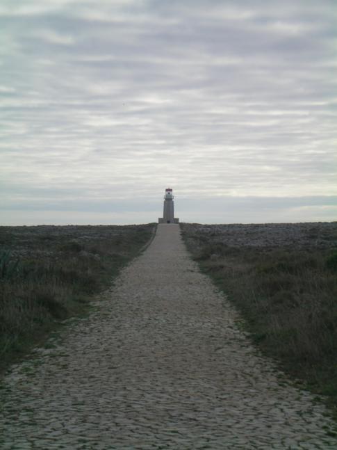 Der Leuchtturm der Festung Sagres