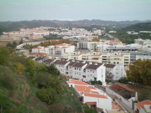 Ausblick von der Burg Silves auf den gleichnamigen Ort
