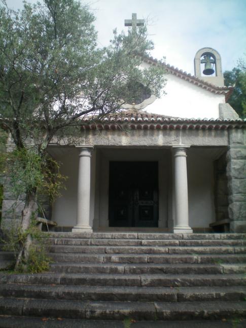 Die Dorfkirche in Caldas de Monchique