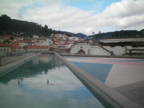 Der gleichnamige Hauptort im Monchique-Gebirge
