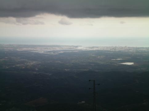 Ausblick vom Foia, dem höchsten Gipfel in der Sierra de Monchique