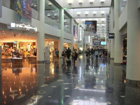 Umsteigen am Miami International Airport