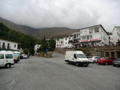 Trevelez, eines der höchstgelegenen Dörfer in Andalusien