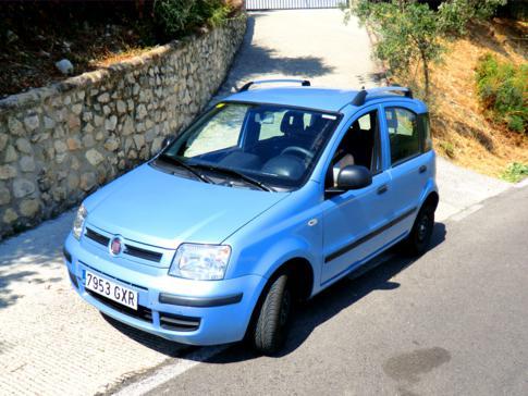 Unser Mietwagen für die Andalusien-Rundreise: ein Fiat Panda