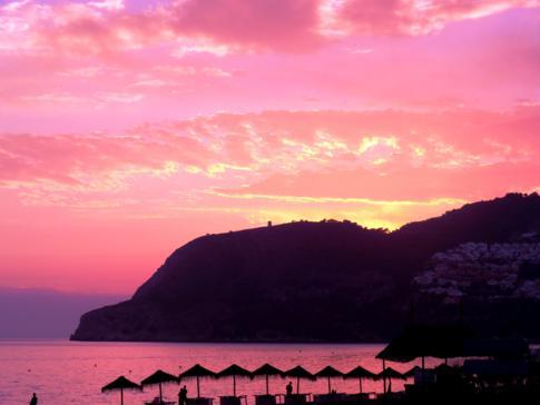 Sonnenuntergang in La Herradura
