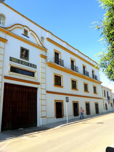Die Olivenölfabrik in Baena