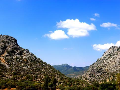 Tolles Landschaftspanorama in der Sierra Ubrique