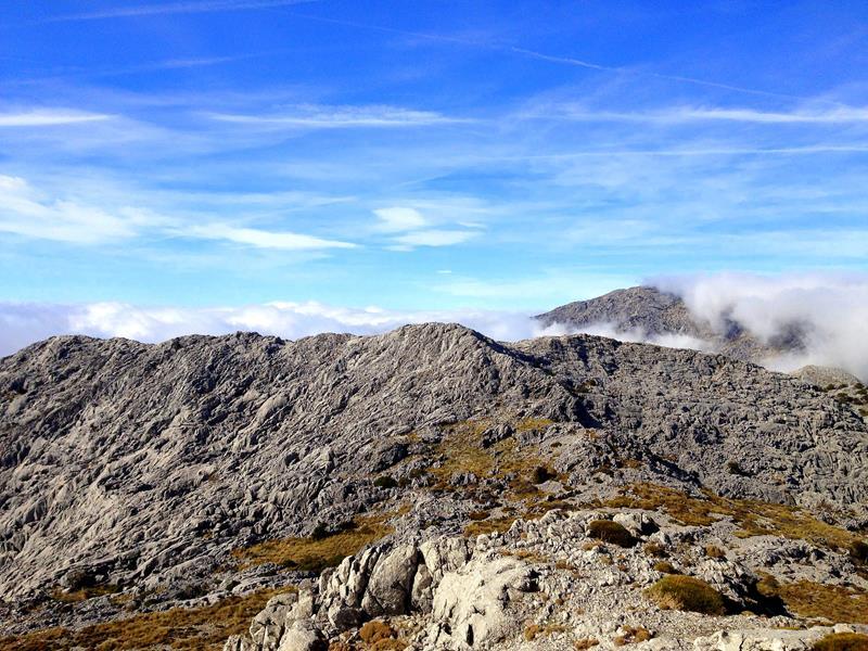 Wanderung auf den Semancon und den El Reloj in der Sierra de la Grazalema im Süden von Andalusien