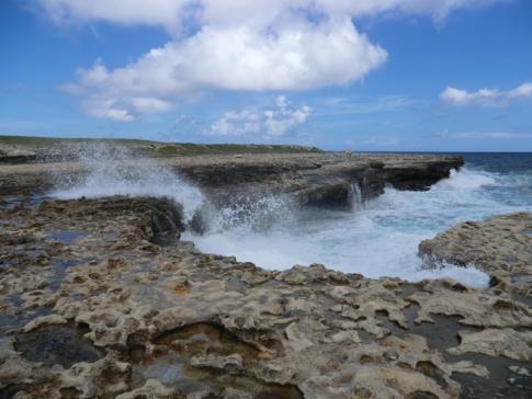 Die Devils Bridge, neben den Stränden wohl das Top-Natur-Wahrzeichen von Antigua
