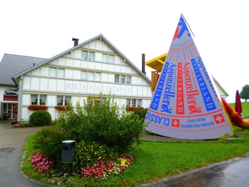Die Schaukäserei von Appenzeller im Appenzeller Land