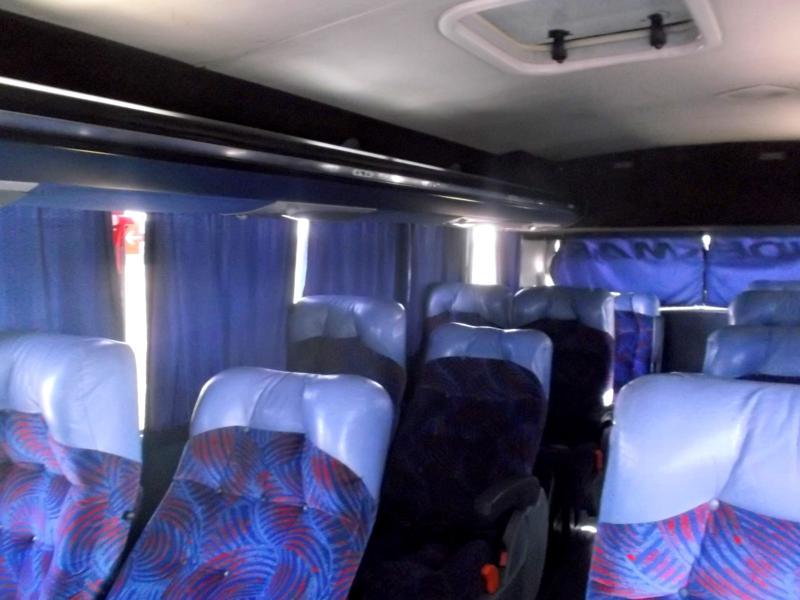 Busfahrt in Argentinien mit Andesmar von Salta nach Mendoza
