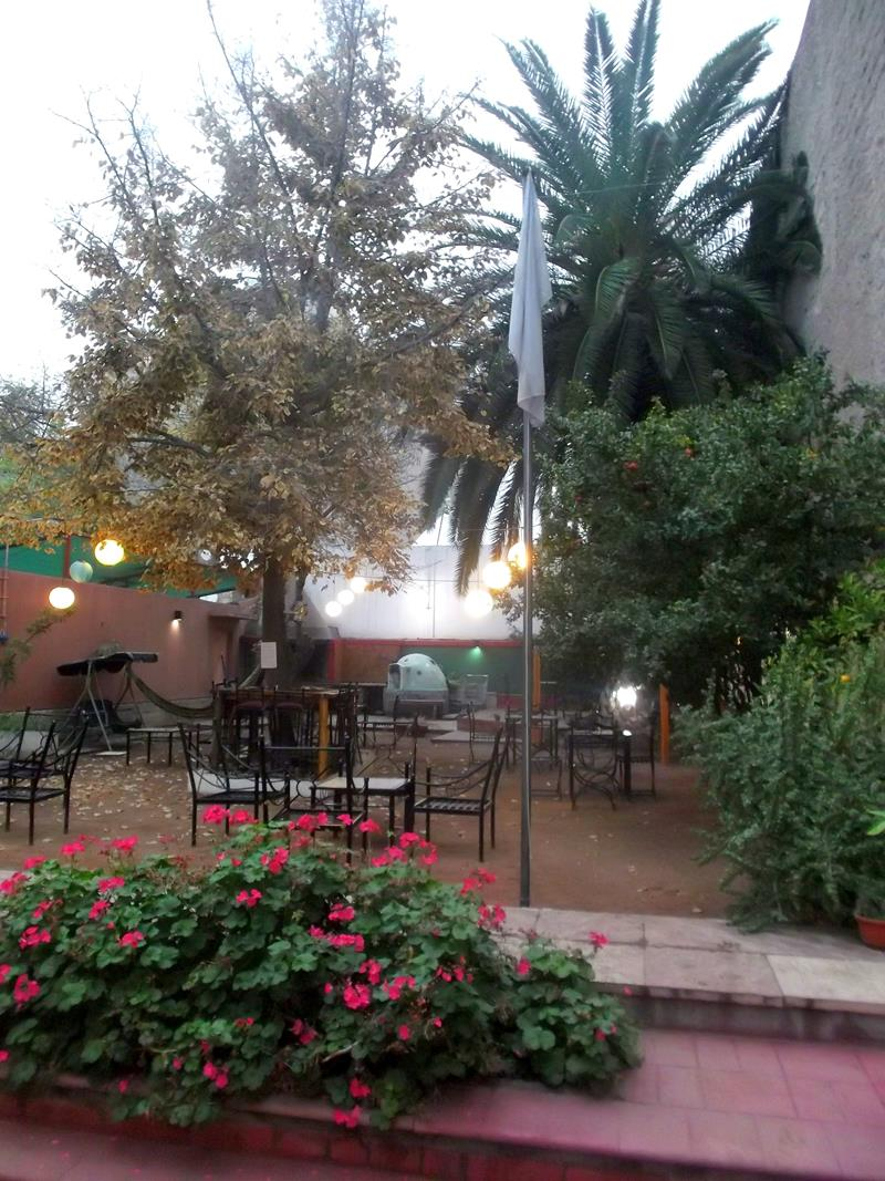 Das Punto Urbano Hostel in Mendoza im Westen von Argentinien
