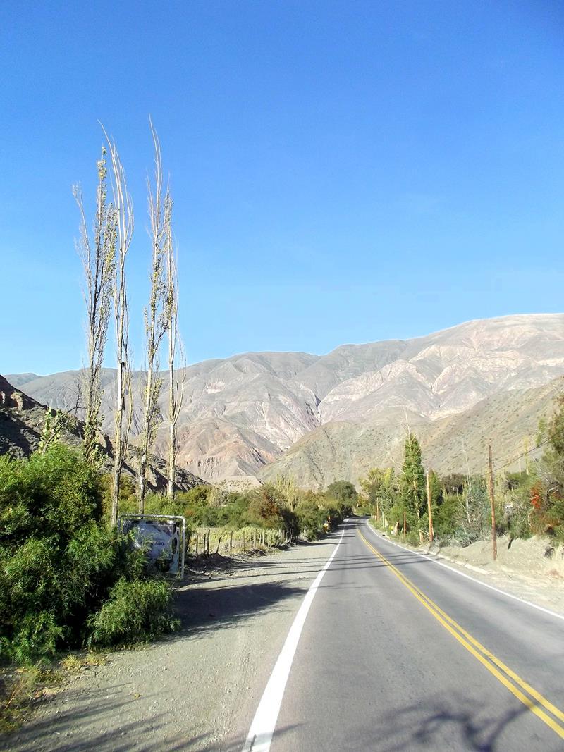 Die wunderschöne Umgebung von Humahuaca im Norden von Argentinien