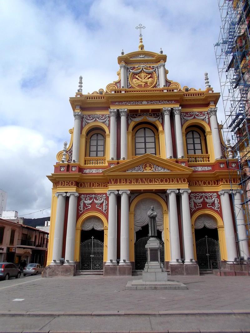 Das Zentrum von Salta, einer mittelgroßen Stadt Argentiniens