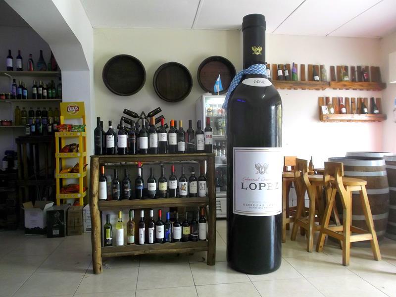 Maipu, eines der bekannteren Weindörfer in Argentinien nahe Mendoza