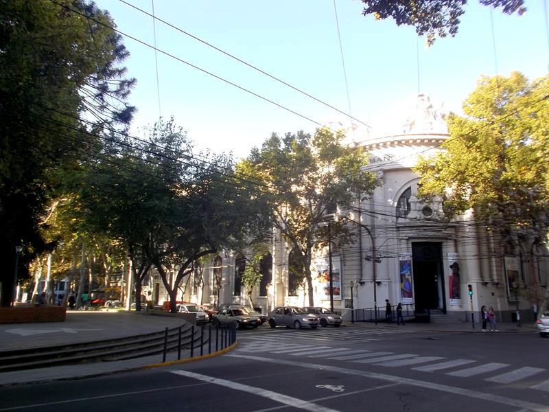 Das Stadtzentrum von Mendoza