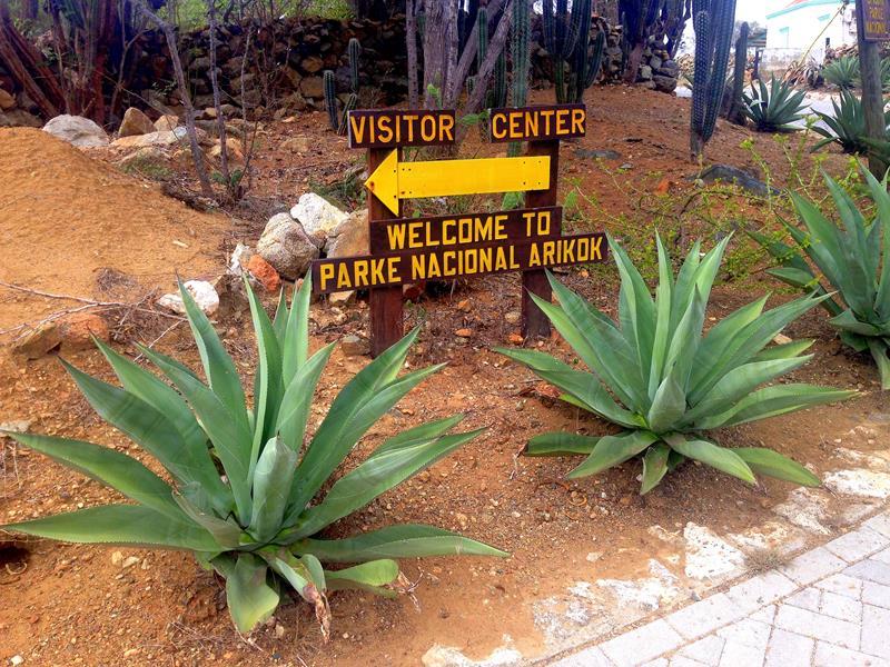 Der Arikok National Park auf Aruba in der südlichen Karibik