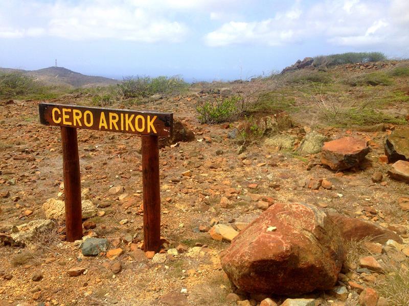 Der Cero Arikok im Arikok National Park auf Aruba