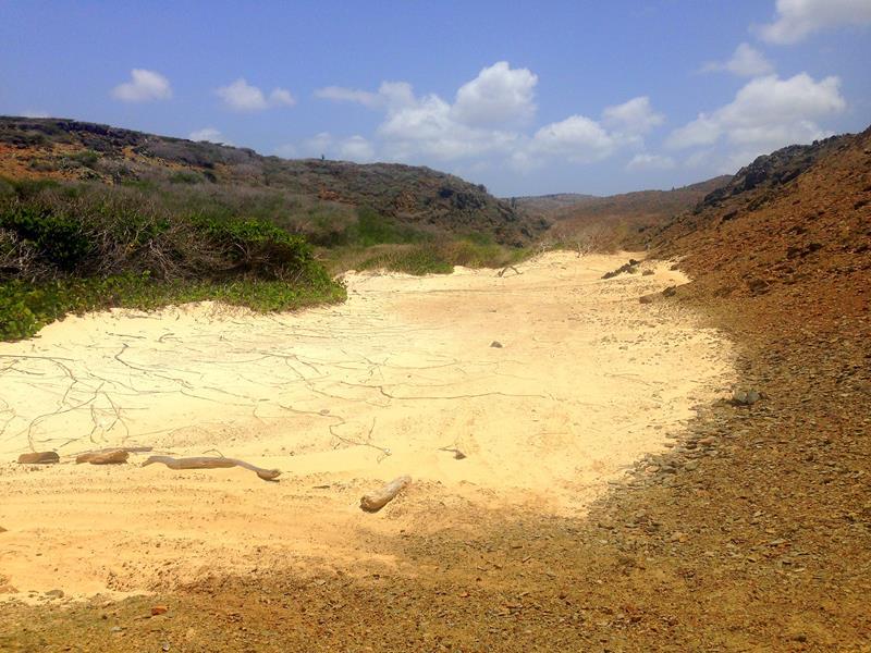 Dos Playa im Arikok National Park auf Aruba