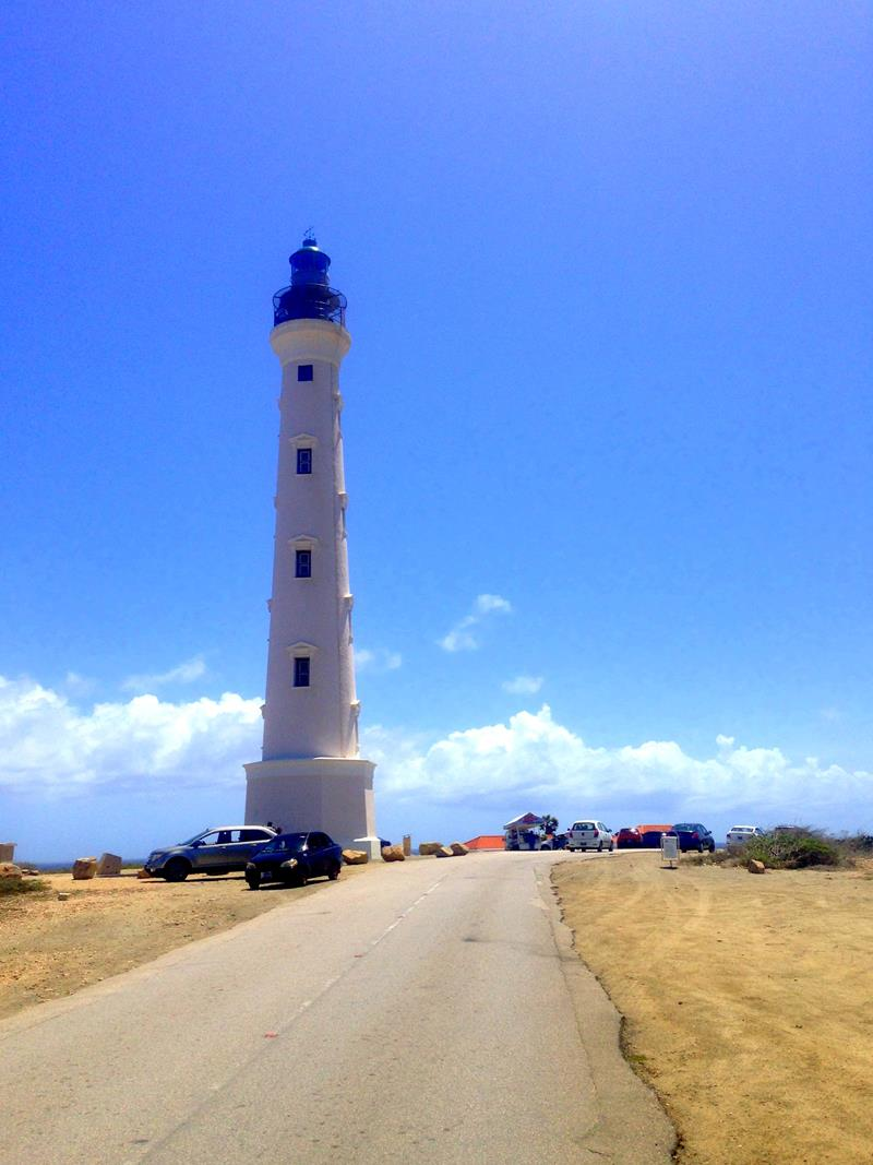 Das California Lighthouse auf Aruba