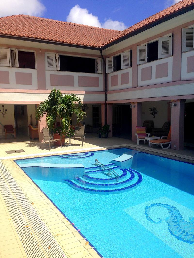 Mein günstiges Gästehaus, die Kamerlingh Express Villa, auf Aruba