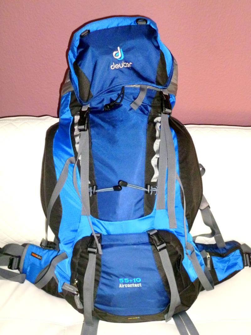 Mein Deuter-Backpack während meiner Rucksack-Weltreise