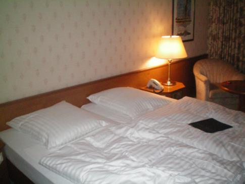 Ein Standard-Doppelzimmer im Maritim Badehotel in Bad Wildungen