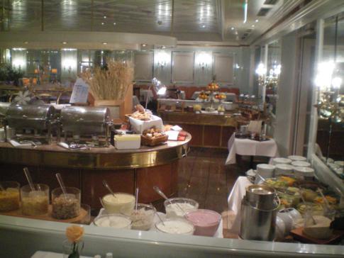 Das ausgiebige Frühstücksbuffet im Maritim Hotel in Bad Wildungen