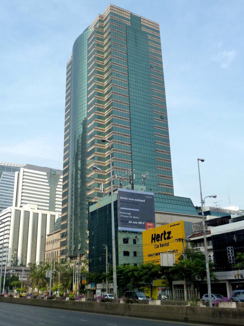 Das Botschaftsviertel in Bangkok rund um die Sathorn Road