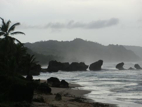 Mystische Stimmung in Bathsheba an der Ostküste von Barbados