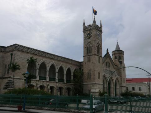 Das Parlament von Barbados in Bridgetown