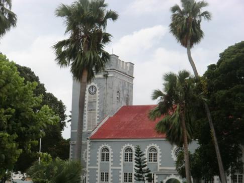 Die St. Mary's Church im Zentrum von Bridgetown
