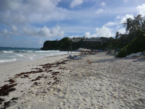 Der Crane Beach an der Südküste von Barbados