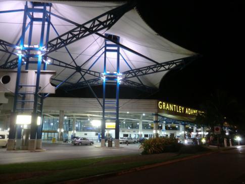 Der Grantley Adams International Airport in Barbados