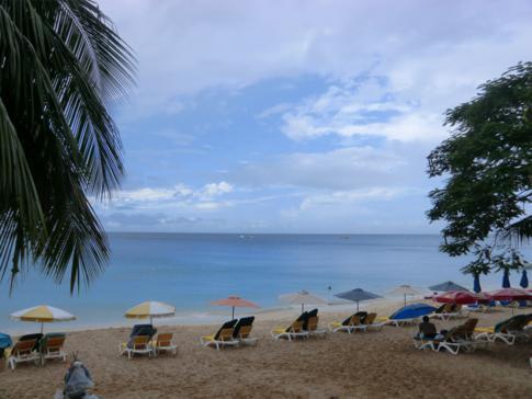 Der Mullins Beach, einer der ruhigsten Strände in Barbados