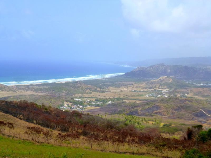 Blick vom Cherry Tree Hill auf die Ostküste