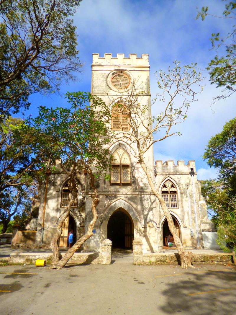 Die St. Johns Parish Church auf Barbados