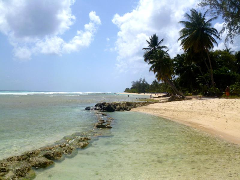 Der Accra Beach in Barbados