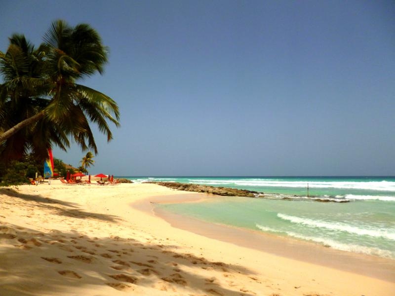 Der Rainbow Beach in Barbados