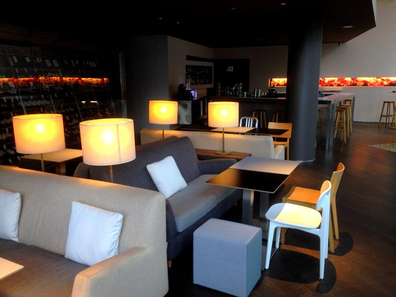 Die Lobby des B Hotel in Barcelona